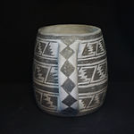 Black-on-White Mineral Painted Pottery