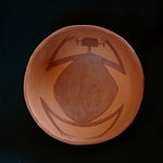Abajo Red-on-Orange Pottery