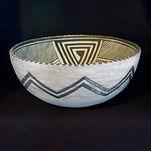 Black-on-White Bowl