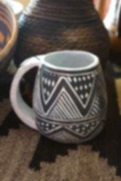 Anasazi Mesa Verde Black-on-White Mug