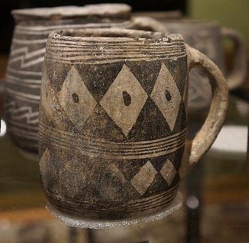 Black-on-White Mug