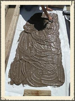 Processing raw clay