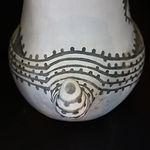 Black-on-White Pottery