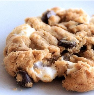 FLOURLESS S'MORES COOKIES