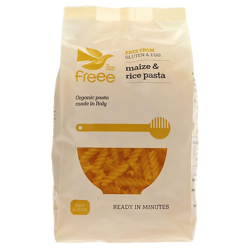 DOVES ORGANIC GLUTEN FREE MAIZE & RICE PENNE PASTA