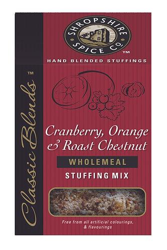 SHROPSHIRE CRANBERRY, ORANGE & CHESTNUT WHOLEMEAL STUFFING