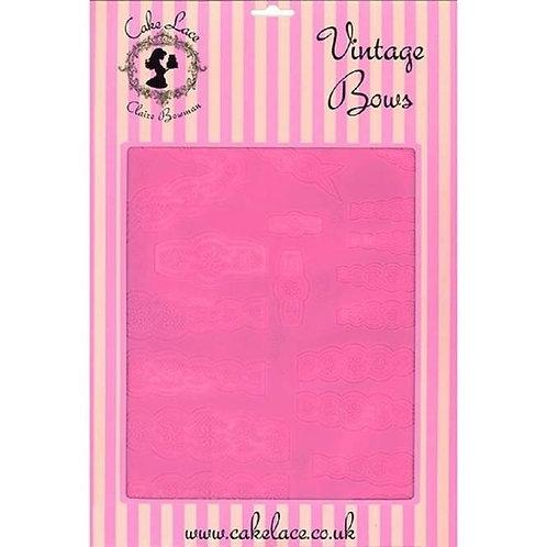 Claire Bowman Lace Mat - Vintage Bows