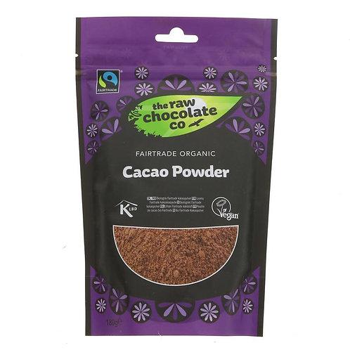 RAW CHOCOLATE CO ORGANIC CACAO POWDER