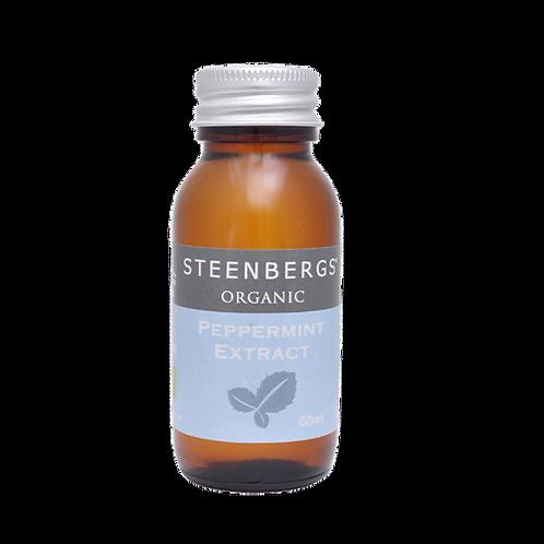 STEENBERGS ORGANIC PEPPERMINT EXTRACT 60ml