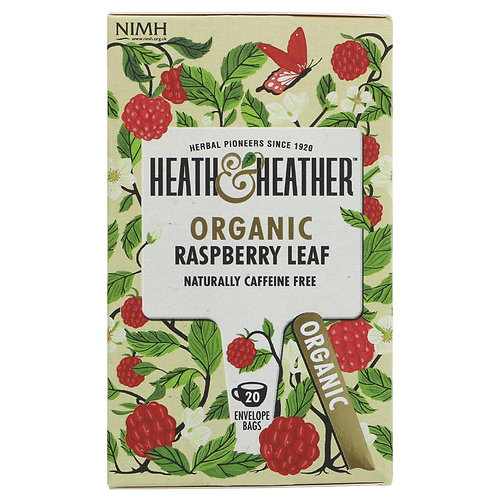 HEATH & HEATHER ORGANIC RASPBERRY LEAF