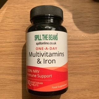 Multivitamins & Iron- 30 tablets