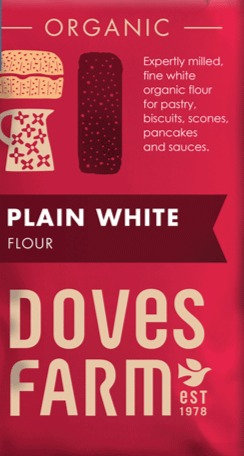 DOVES ORGANIC PLAIN WHITE FLOUR