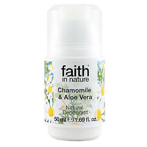 FAITH IN NATURE - CHAMOMILE & ALOE VERA DEODORANT