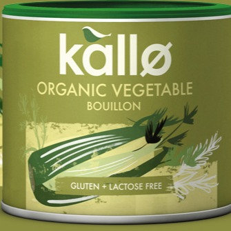 KALLO ORGANIC VEGETABLE BOUILLON POWDER