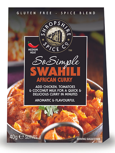 SHROPSHIRE SWAHILI AFRICAN CURRY SPICE BLEND