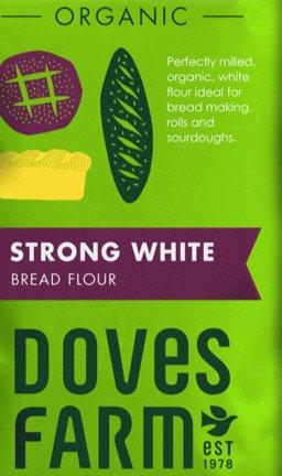 DOVES ORGANIC STRONG WHITE BREAD FLOUR