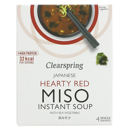 CLEARSPRING HEARTY RED MISO SOUP