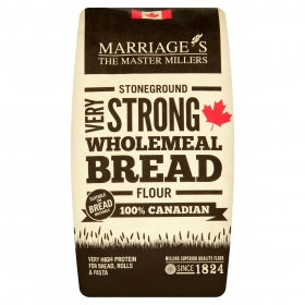MARRIAGES VERY STRONG CANADIAN WHOLEMEAL BREAD FLOUR
