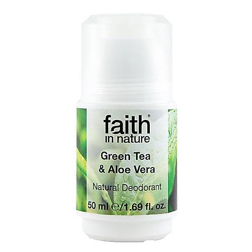 FAITH IN NATURE - ALOE VERA & GREEN TEA DEODORANT