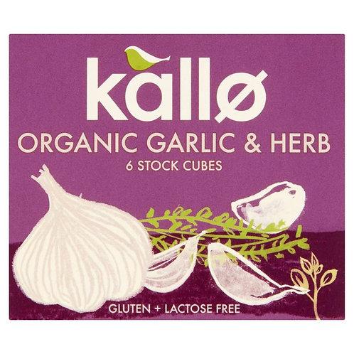 KALLO GARLIC & HERB STOCK