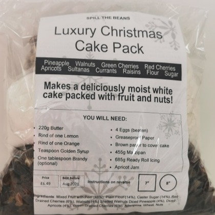 LUXURY CHRISTMAS CAKE INGREDIENT PACK