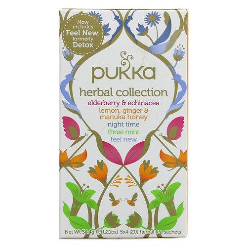 PUKKA ORGANIC HERBAL TEA SELECTION