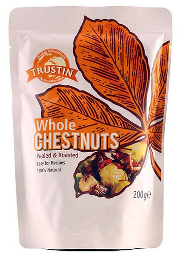 TRUSTIN WHOLE CHESTNUTS 200g