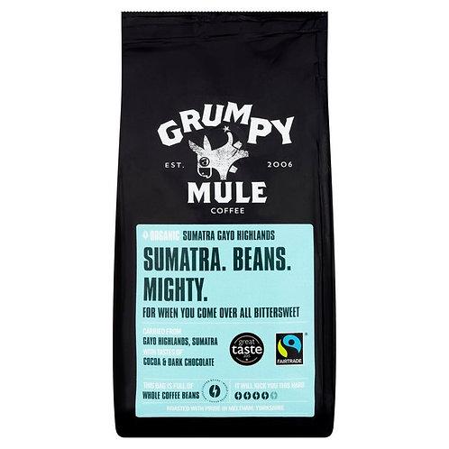 GRUMPY MULE SUMATRA COFFEE BEANS