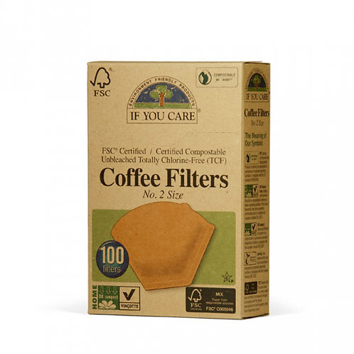 IF YOU CARE COFFEE FILTERS No.2 - SMALL