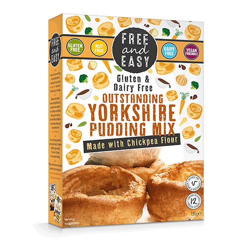 Free & Easy Gluten Free Yorkshire Pudding Mix