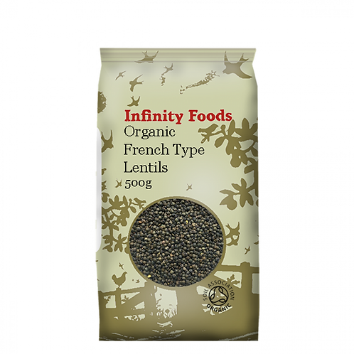 INFINITY ORGANIC FRENCH TYPE LENTILS (PUY)