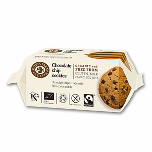 Doves Organic Gluten Free Choc Chip Cookies