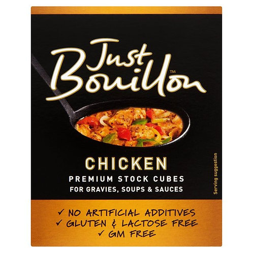 JUST BOUILLON CHICKEN STOCK CUBES