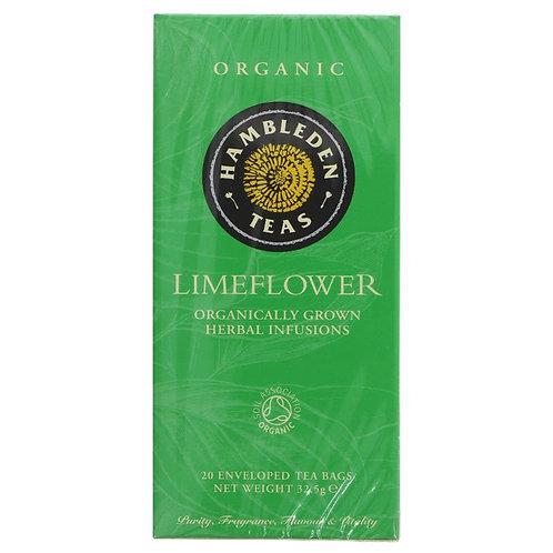 HAMBLEDEN ORGANIC LIMEFLOWER TEA BAGS