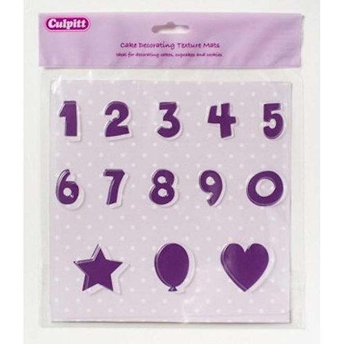 Culpitt - Numbers - Texture Mat