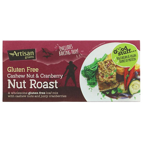 ARTISAN GRAINS CASHEW & CRANBERRY NUT ROAST - GLUTEN FREE