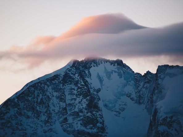 Winter Sunrise Corvatsch