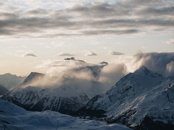 Alpine Winter Landscapes