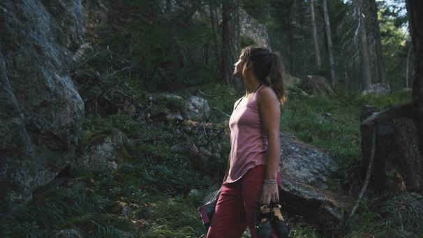 Bouldering below Bernina 2019