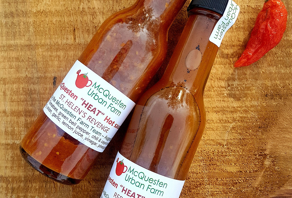 "McQuesten ""Heat"" Hot Sauce - 2 for $15"