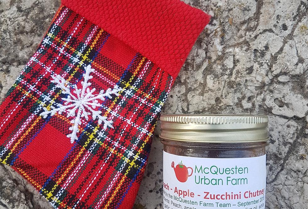Peach, Apple & Zucchini Chutney - 250ml