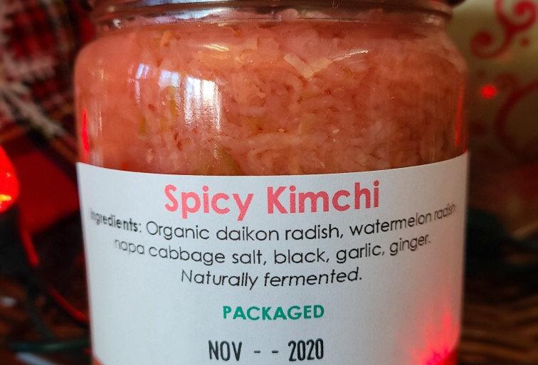 Spicy Kimchi - 500ml Jar