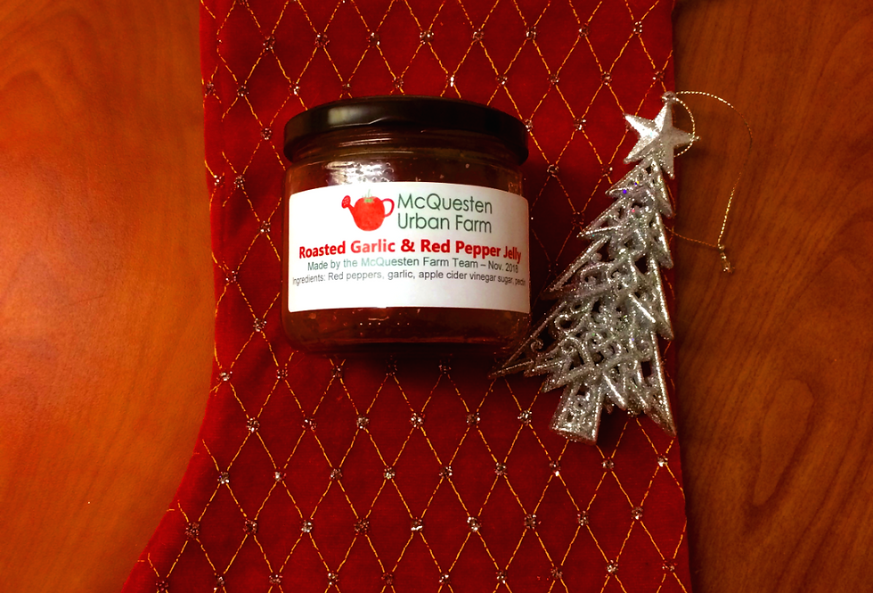 Roasted Garlic & Red Pepper Jelly - 255ml