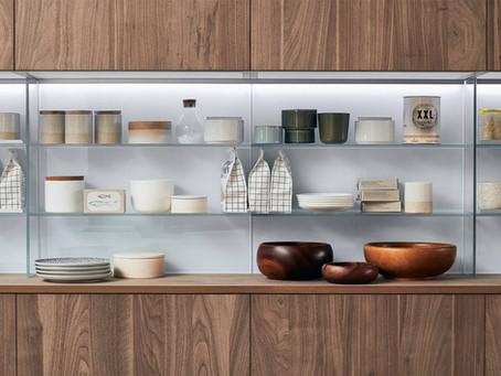 La cucina moderna: elementi a giorno