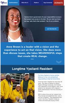 Campaign Site Design