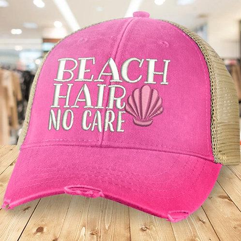 Beach Hair, Don't Care Hat