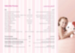 Hello Kitty Beauty Spa Prices Menu 2019