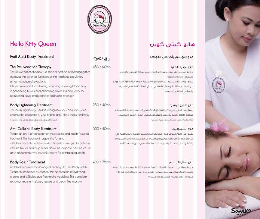 Hello Kitty Beauty Spa Doha Prices