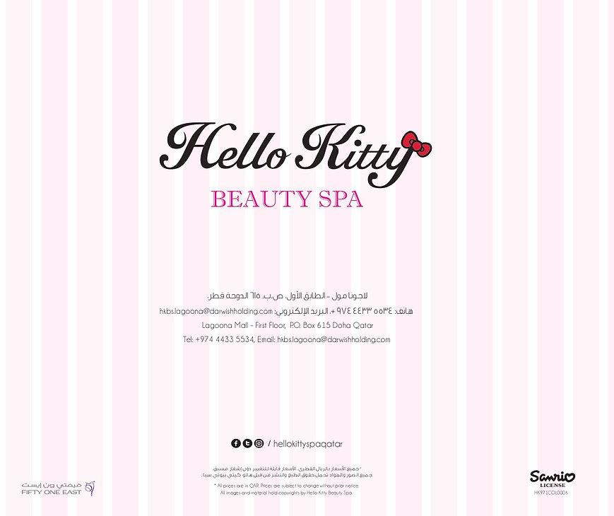 Hello Kitty Beauty Spa Doha Address Logo