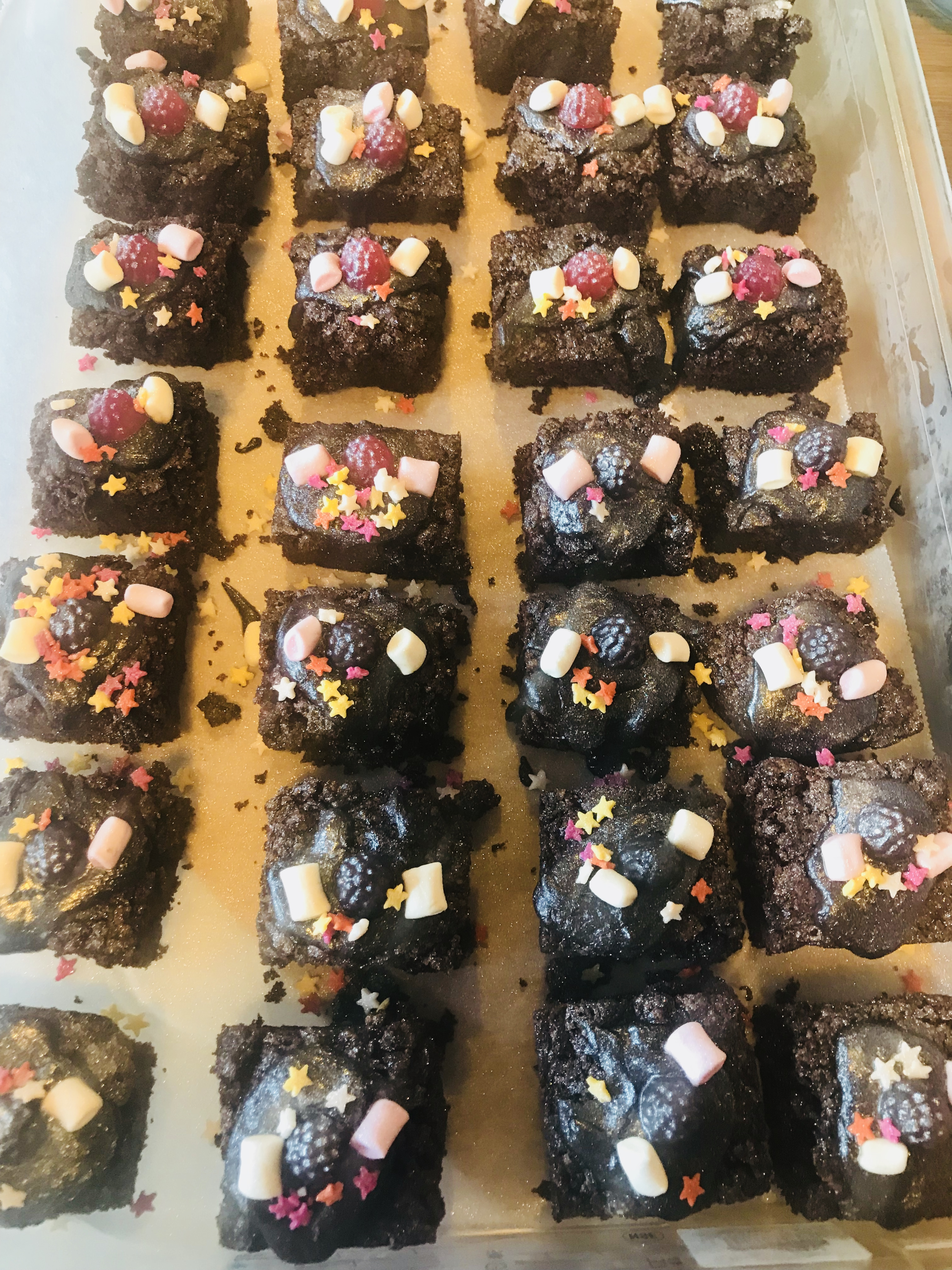 Party Brownies